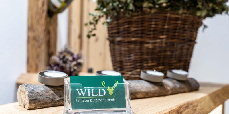 Hotel Pension Wild Otterfing - Visitenkarten